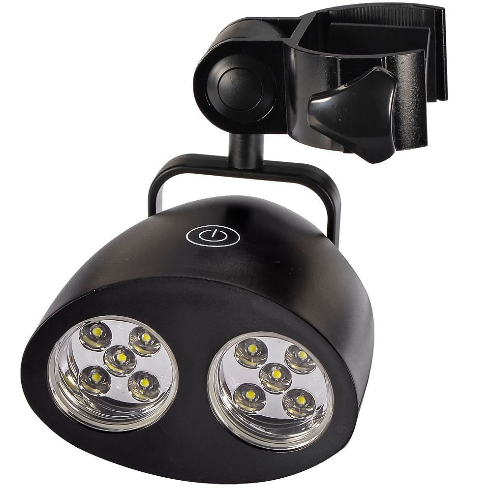 Findway Ultra Bright Barbecue Grill Light with 10 Super Bright LED Lights Handle Bar Mount BBQ Light for Grilling Fully Adjustable - Never Burn & Undercook Any Meat Again - Easy to Install - Touch Sensitive Switch - Battery Operated