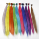 2016 New arrive synthetic feather hair extension fashion Chemical fiber feathers wholesale fashion i-tip synthetic feather