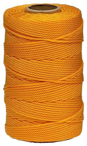 Lehigh GNT1812HD 425-Feet Nylon Twisted Twine Mason Line, Gold