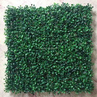 Artificial Boxwood plastic leaf fence