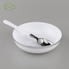 Perfect design hand wash cheap wholesale silver washing up 36oz dessert fruit disposable plastic salad bowl