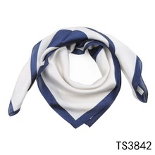 TOROS latest design 70*70 square custom silk scarf twill alibaba scarves