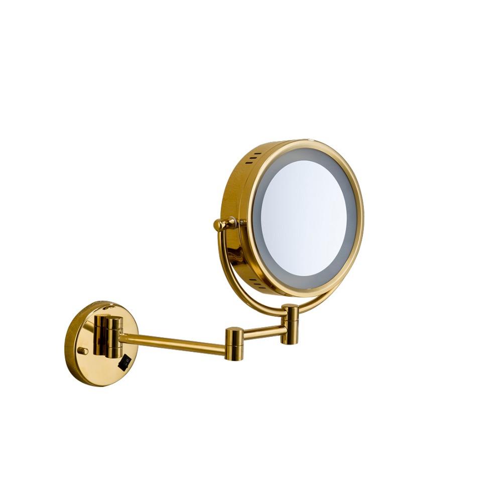 Fapully a parete specchio per il trucco illuminato tubolare illuminato specchio e specchio - Specchio trucco illuminato ...