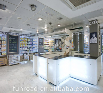 Unique retail pharmacy store furniture display showcase design medical store  counter design. Unique retail pharmacy store furniture display showcase design