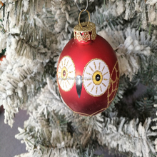 Winter Warming Xmas Ball Bauble christmas tree ornament spinners