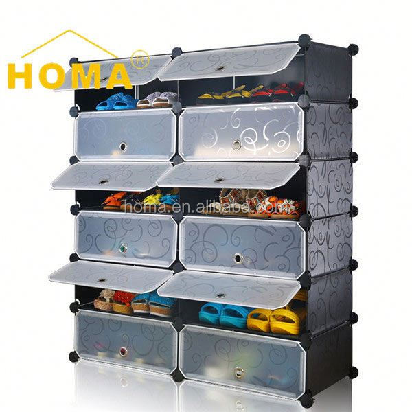 China manufacturer Simple design Commercial steel pipe shoe rack