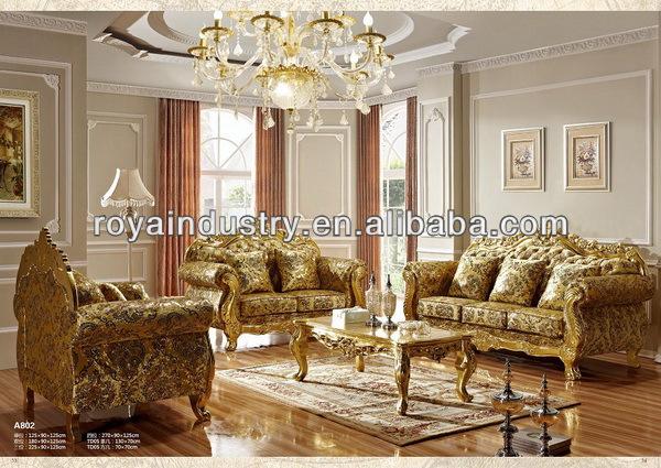 De estilo europeo de madera maciza antigua talla de muebles para ...