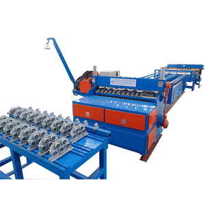 automatic cage making reinforcing mesh welding electrode production line