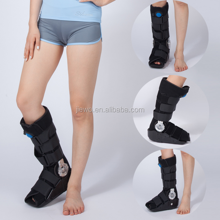 Orthopedic ankle fracture brace immobilizer air cam walker boot for ankle Achilles Tendonitis