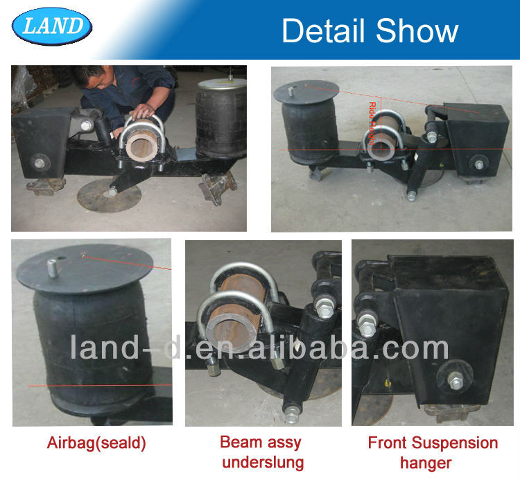 Heavy Duty Trailer 30000lbs Independent Air Bag Suspension Kit Compressor -  Buy Air Suspension Compressor,Air Suspension Kit,Trailer Independent