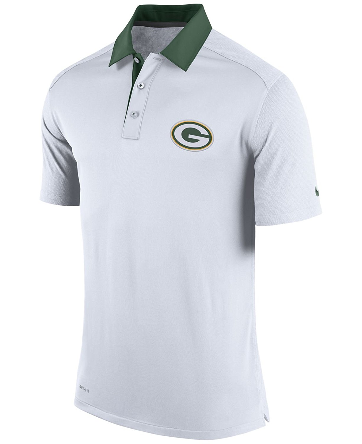 Buy Green Bay Packers Nike Dri Fit Elite Coaches Polo Shirt Small In