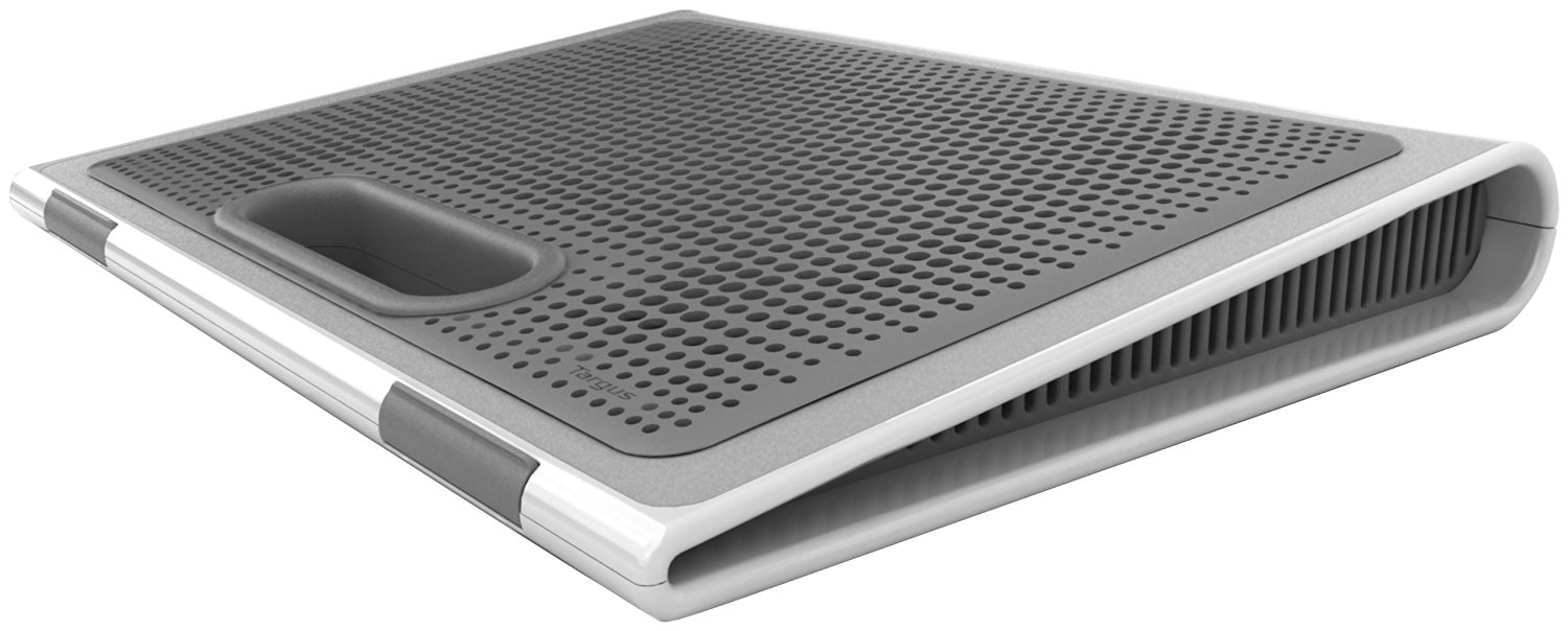 Get Quotations Targus Laptop Lap Desk Designed For 17 Inch Screen With Storage Awe62us Gray