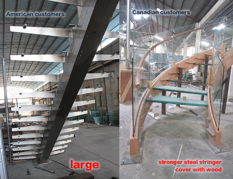 Indoor Staircase Designs / Circular Stair/ Stair Curved Staircase China