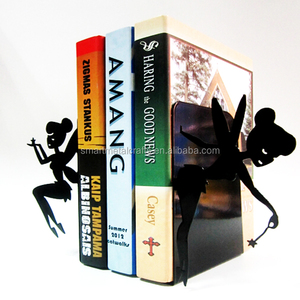 FAIRY metal bookends Steel bookends decorative metal book stand