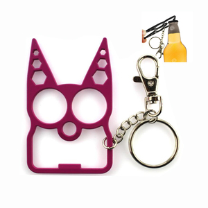 no minimum promotional holder metal custom customized blank bottle opener  keyring key ring key chain keychain