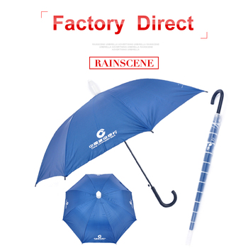 wholesale custom rain telescopic plastic cover umbrella