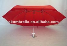 2012 new fashion double roof umbrella