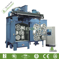 Alloy Wheel Sand Blasting Machine, Wheel Blasting Machine