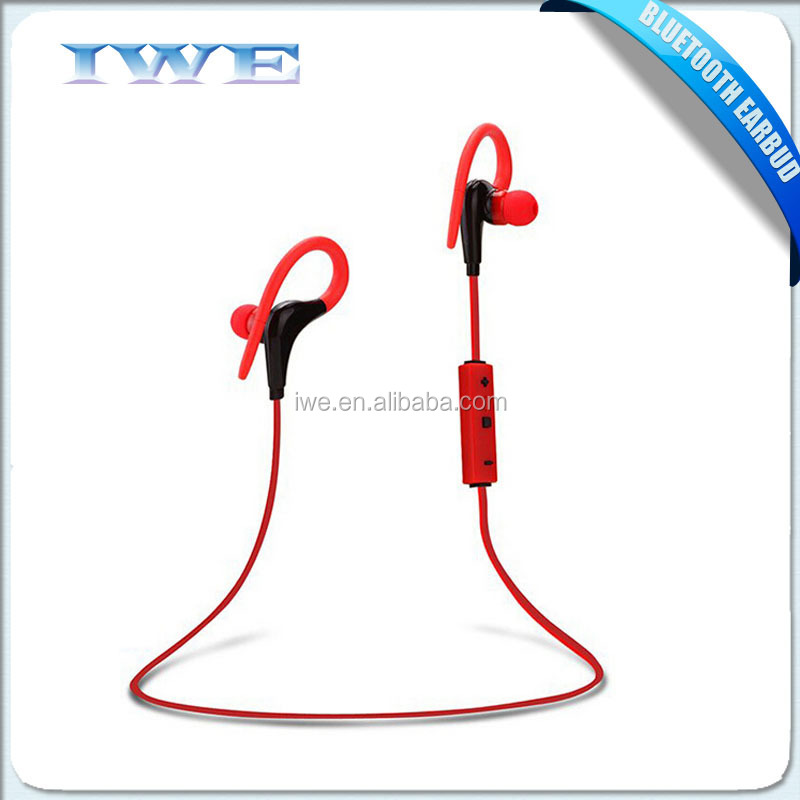 latest electronic products in market v4.1 wireless bluetooth headset with mic ear hook
