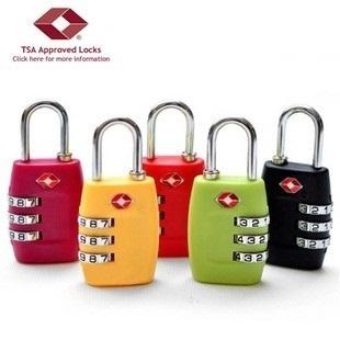 a3aaf2d326f Tsa Antirrobo Equipaje Contraseña Candado Ligero Mini Cerraduras Aduaneras  Kits De Seguridad Accesorios De Viaje Equipaje Maleta Lock - Buy Costumbres  ...