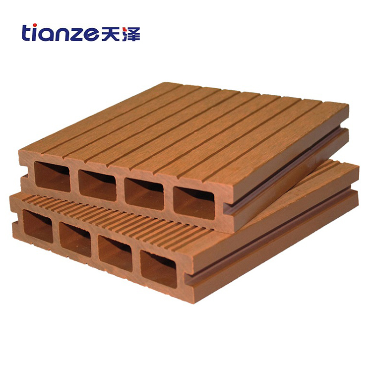 Hollow shielded WPC decking