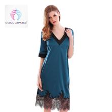 75f410c84b Plain Blue Babydoll Dress