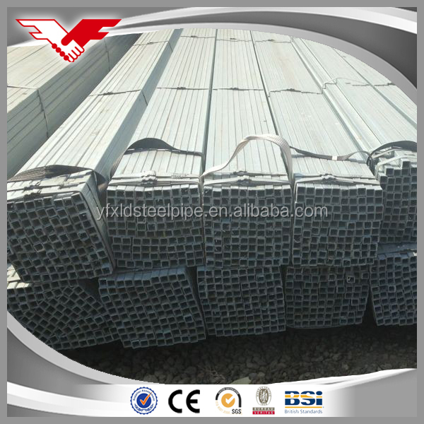 best price rectangular/square steel pipe/tubes/hollow section galvanized