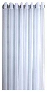 Ricardo Oyster Bay Sheer Voile Grommet Patio Panel With Attachable Wand, 110 X ,,#G434G14 1T4G3484TYG427600