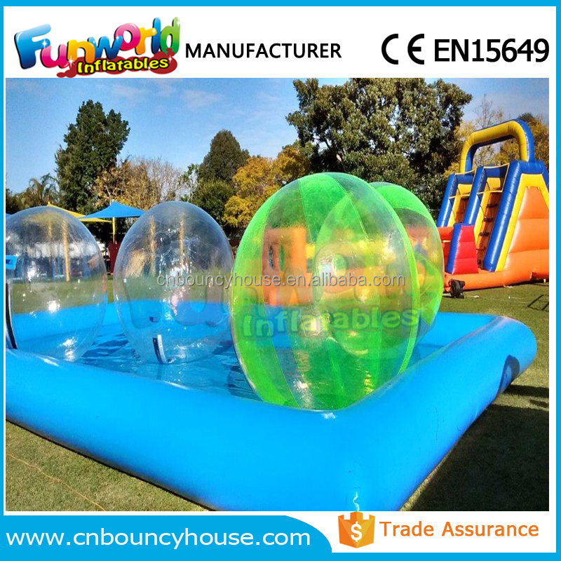 10x8 Square Meter Inflatable Swimming Pool Inflatable Pool For Sales (FUN IP-001)