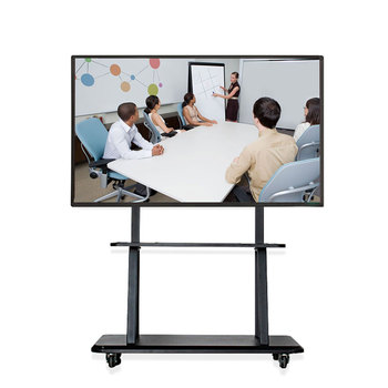 "70"" FHD Smart Touch Screen Portable Interactive Whiteboard All in One PC For School Teaching"