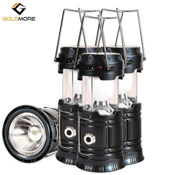 4 Pack Solar Rechargeable Led Camping Lantern for Emergency
