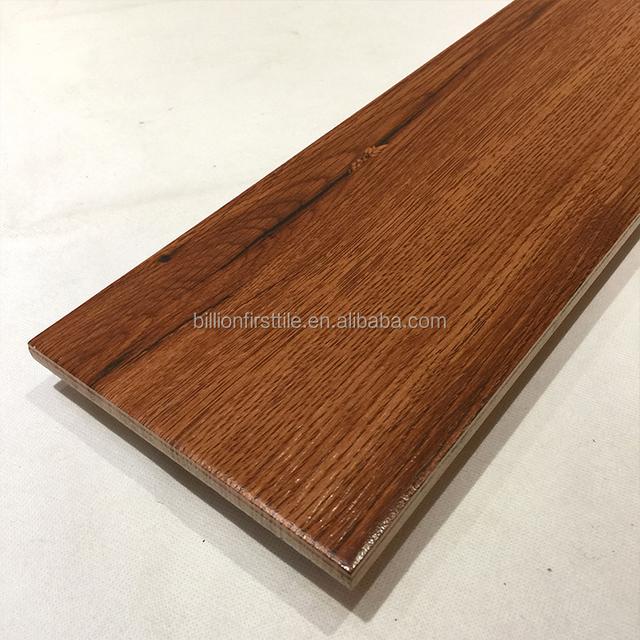 Indoor Usage Eco Friendly Ceramic Grain Wooden Floor Tiles