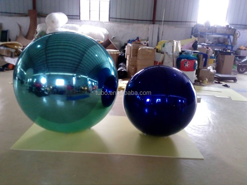 2m giant Advertising Inflatable christmas decoration Mirror Ball/inflatable hanging mirror balloon for ceiling decoration