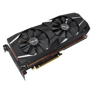 New Original ASUS Dual GeForce RTX 2080 Ti 11GB GDDR6 DUAL-RTX2080TI-11G with high-performance cooling for 4K and VR gaming