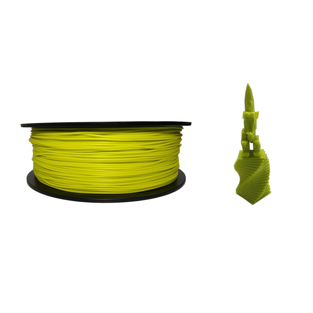 China top ten selling products 1.75mm ABS pastel green 3D printing plastic filament for filament extruder