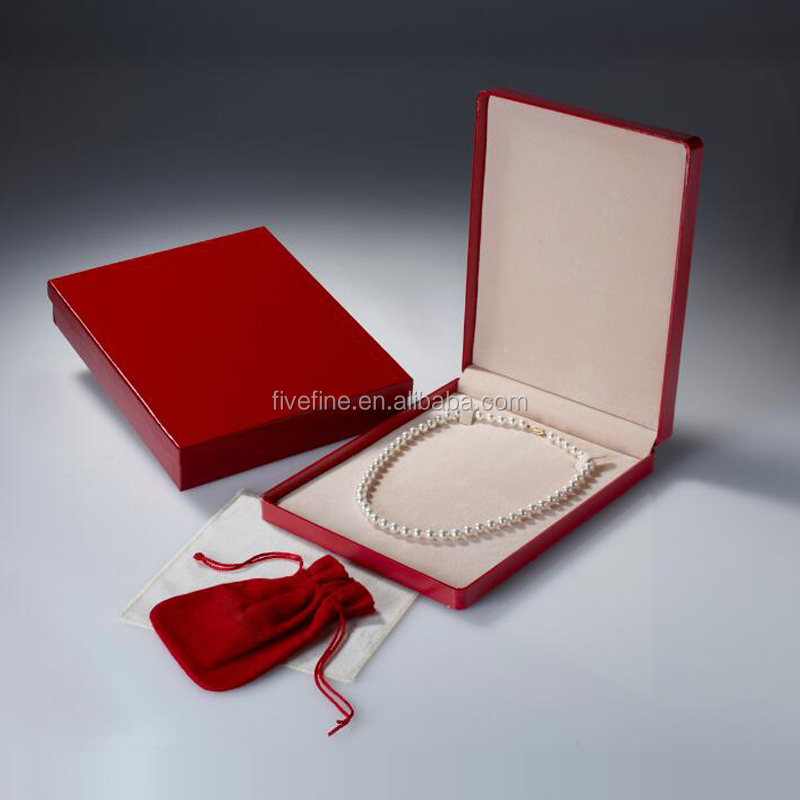 Luxury Big Necklace Gift Box/ Jewel Necklace Box / pearl Necklace Packing Box