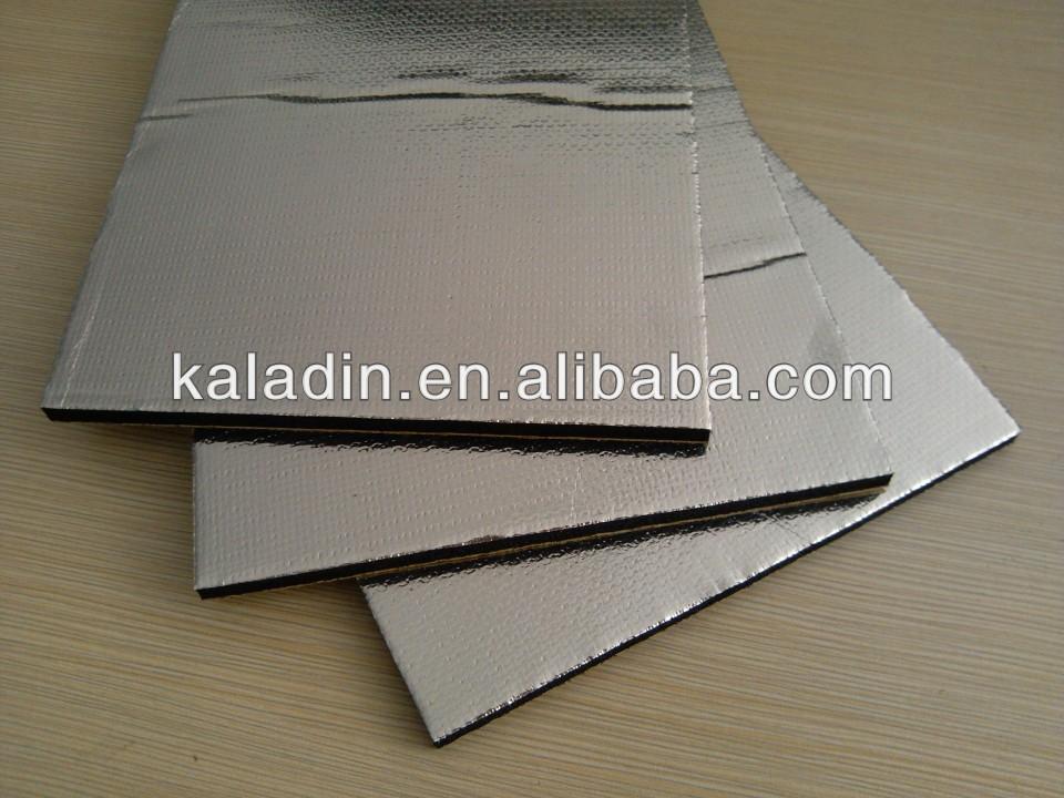 Black Foam Self Adhesive Heat Resistant Insulation Board