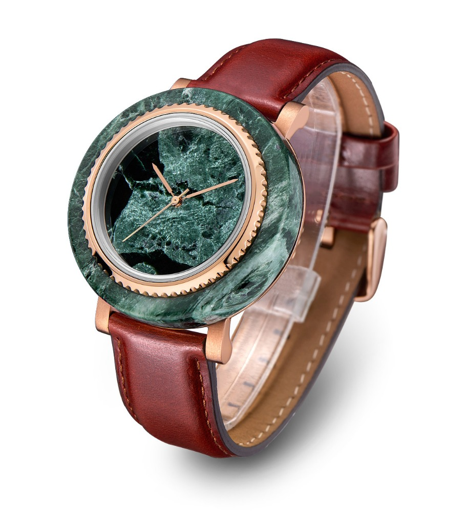 Natural Marble Raw Materials Made Marble Watches фото