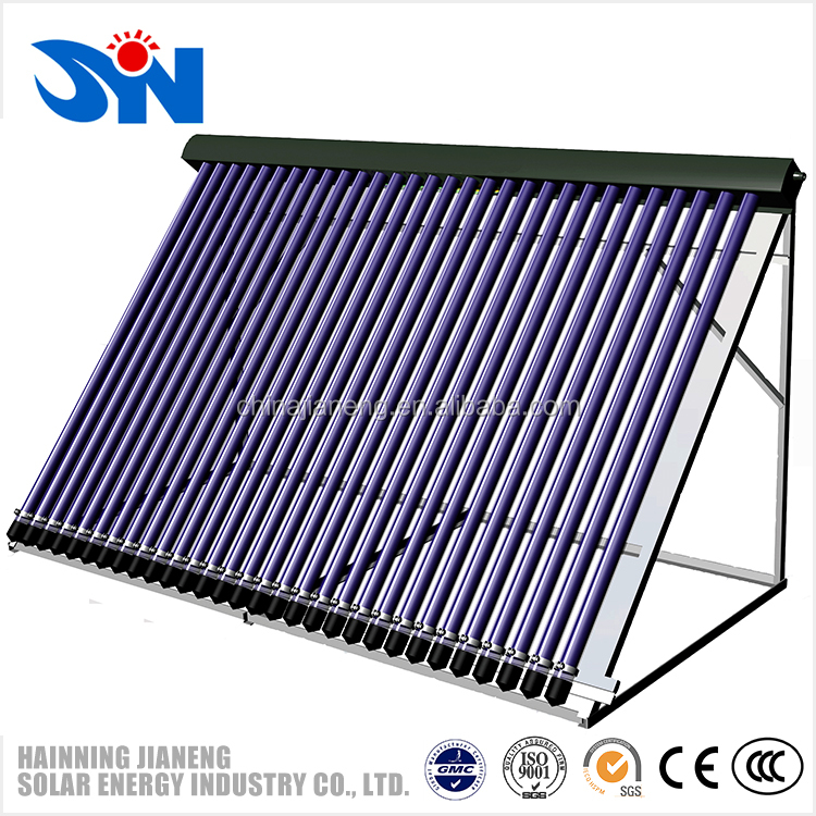 heat pipe three target vacuum tube solar collector /solar water heating system