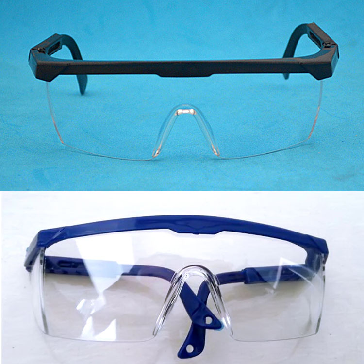 fd5271dd94ed Safety Goggles Eyes Protection Clear Protective Glasses Wind and Dust Anti  fog Medical Use Workplace Safety