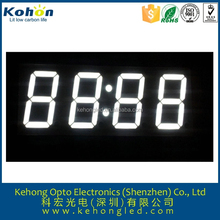 2015 new product 4 digits 0.56 inch 7 segments led display white for digital wall clock