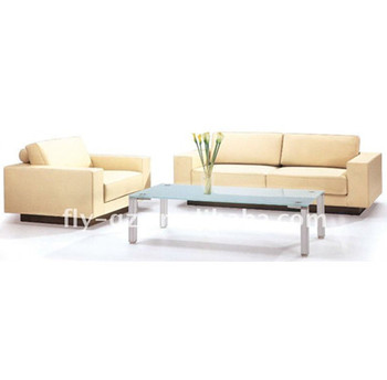 Recliner Leather Sofa With Tablet