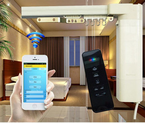 Electric Curtain, Motorized Curtain, Automatic Curtain System For Hotel Curtain And Home Curtain Automation