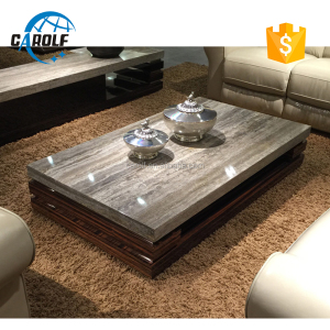 Luxury Design Modern Coffee Table With Marble Top