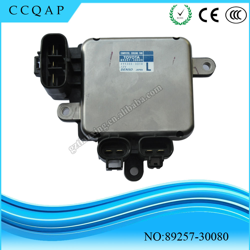 89257-30080 High quality wholesale price auto denso radiator cooling fan computer control module unit ECU for Toyota