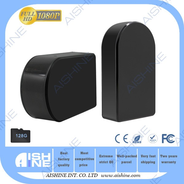 Hot <strong>wifi</strong> hidden black box rotatable ip camera built-in motion detection & infrared sensors to stream live video anytime.