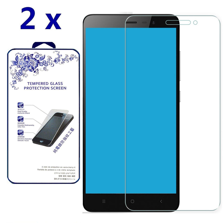 2x Glass For Xiaomi Redmi Note 3 / Redmi Note 3 Pro Premium Tempered Glass Screen Protector [Anti-scratch Bubble-free, 0.3mm] (For Xiaomi Redmi Note 3 / Redmi Note 3 Pro )
