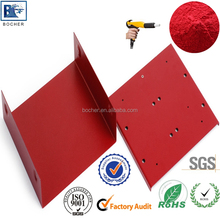 epoxy polyester red powder coating paints for metal