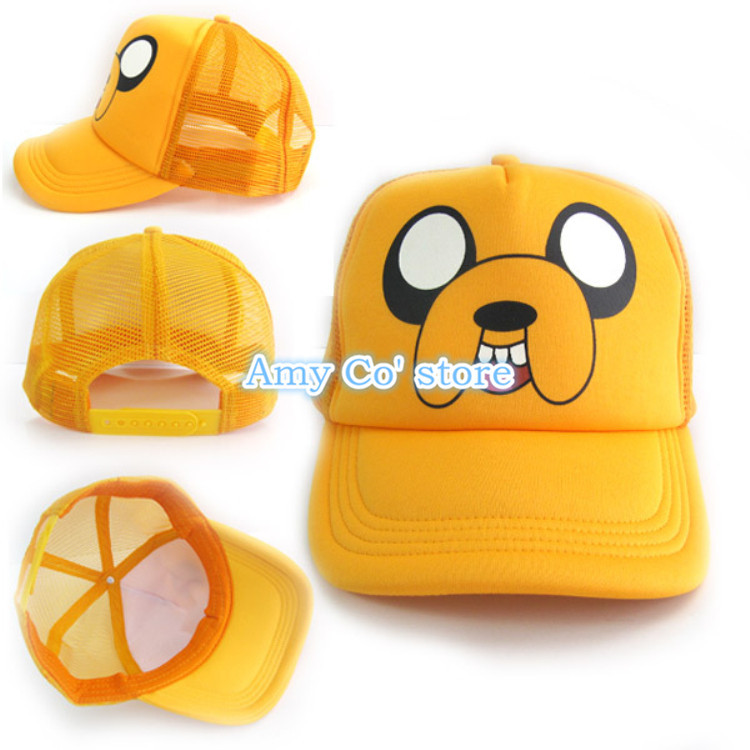 d4a2972370a Get Quotations · Wholesale 5pcs lot New Arrival Finn and Jake Adventure  Time Hat