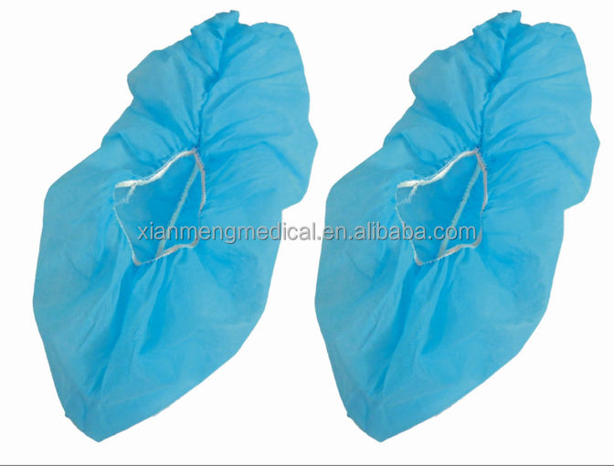 Disposable hospital use unisex medical surgical waterproof shoe cover